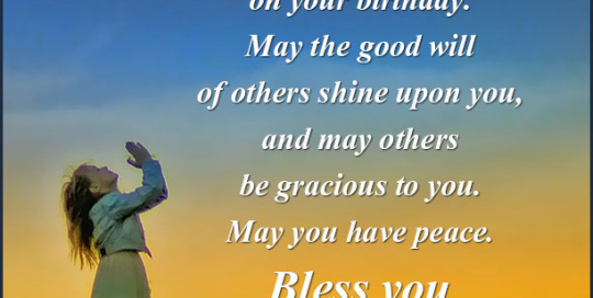birthday blessings Archives Birthday Wishes for Friends Family – Birthday Greetings Religious