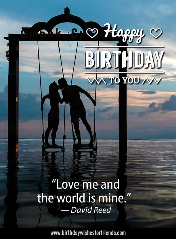 Girlfriend Birthday Wishes