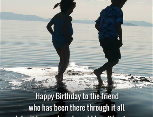 Birthday Wishes For A Best Friend