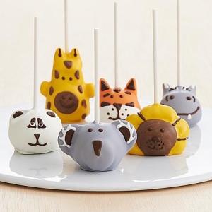 Handmade Zoo Animals Birthday Cake Pops