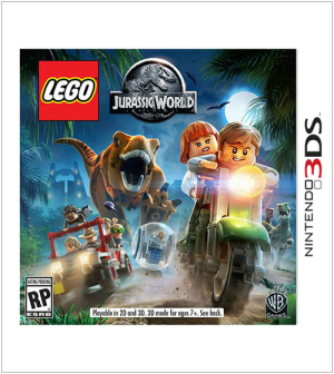 LEGO Jurassic World Nintendo 3DS Video Game