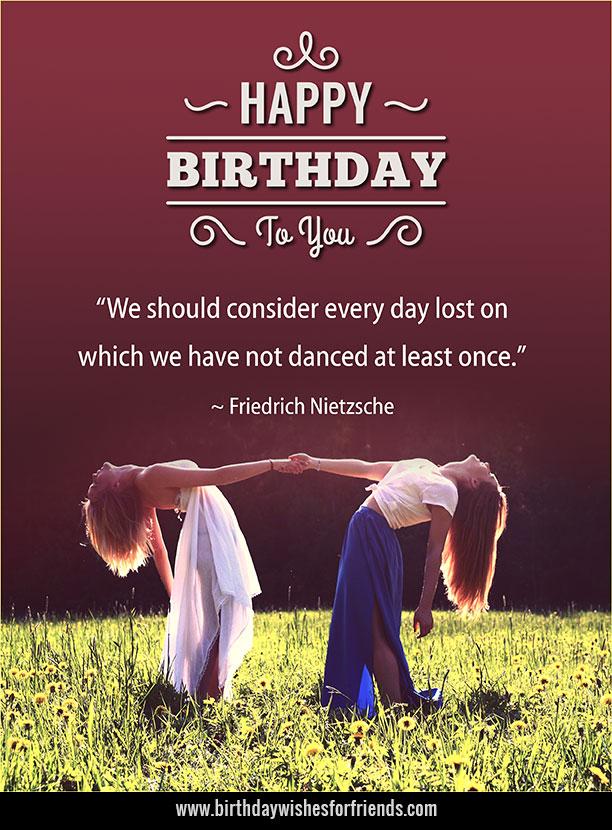 Birthday Greetings for Girlfriend