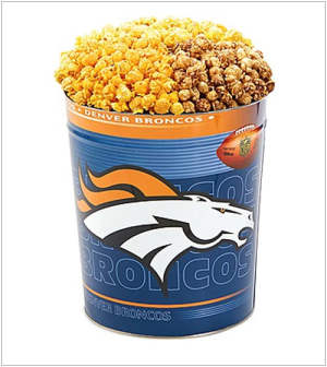 NFL Popcorn Tin