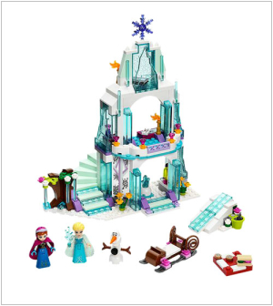 Elsa's Sparkling Ice Castle LEGO