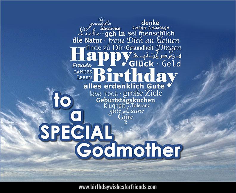 Happy Birthday Godmother