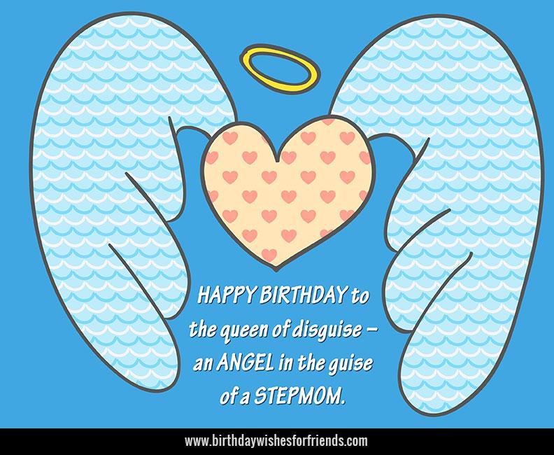 Happy Birthday Stepmom
