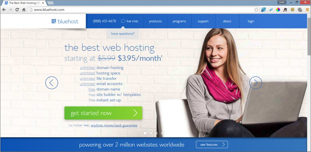 Sign up for hosting here