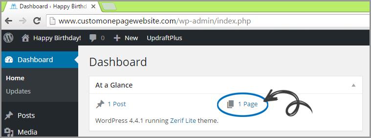 delete wordpress post page