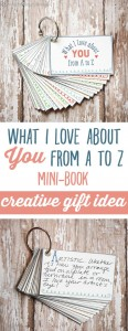 what I love about you A to Z